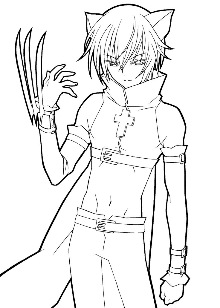 boy easy anime coloring pages anime coloring page google search coloring pages easy pages boy coloring anime
