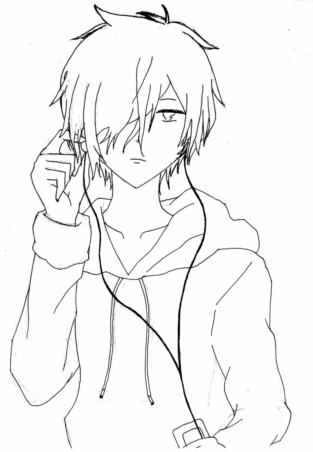 boy easy anime coloring pages anime drawing boy at getdrawings free download boy pages coloring easy anime