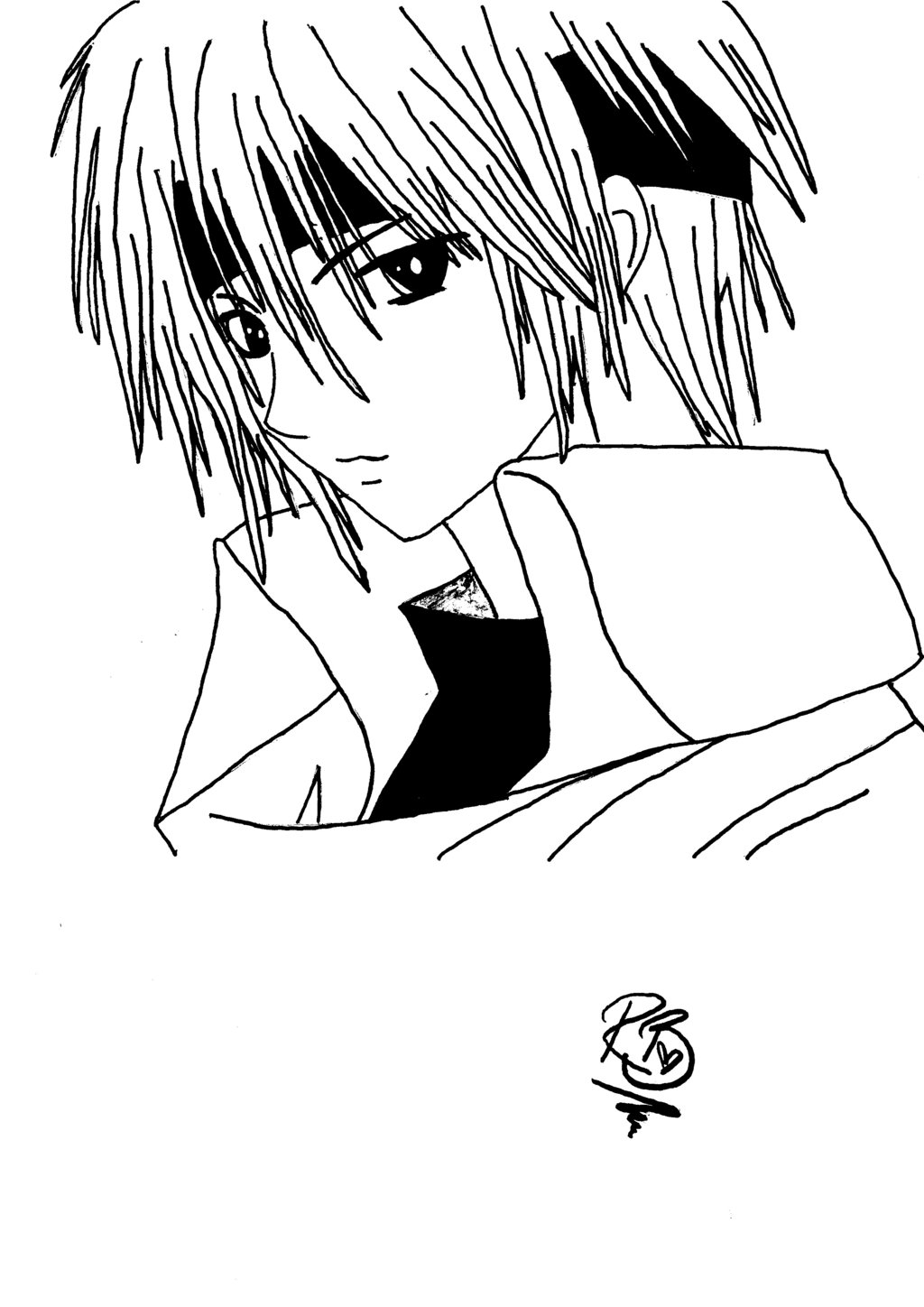 boy easy anime coloring pages coloring pages of anime boys at getcoloringscom free coloring easy boy pages anime