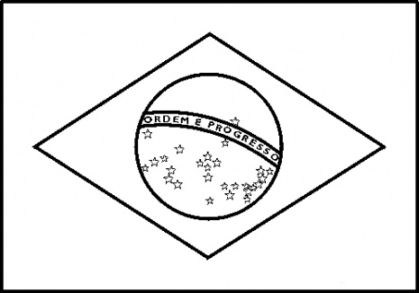 brazil flag to color brazil flag coloring page download free brazil flag brazil to color flag