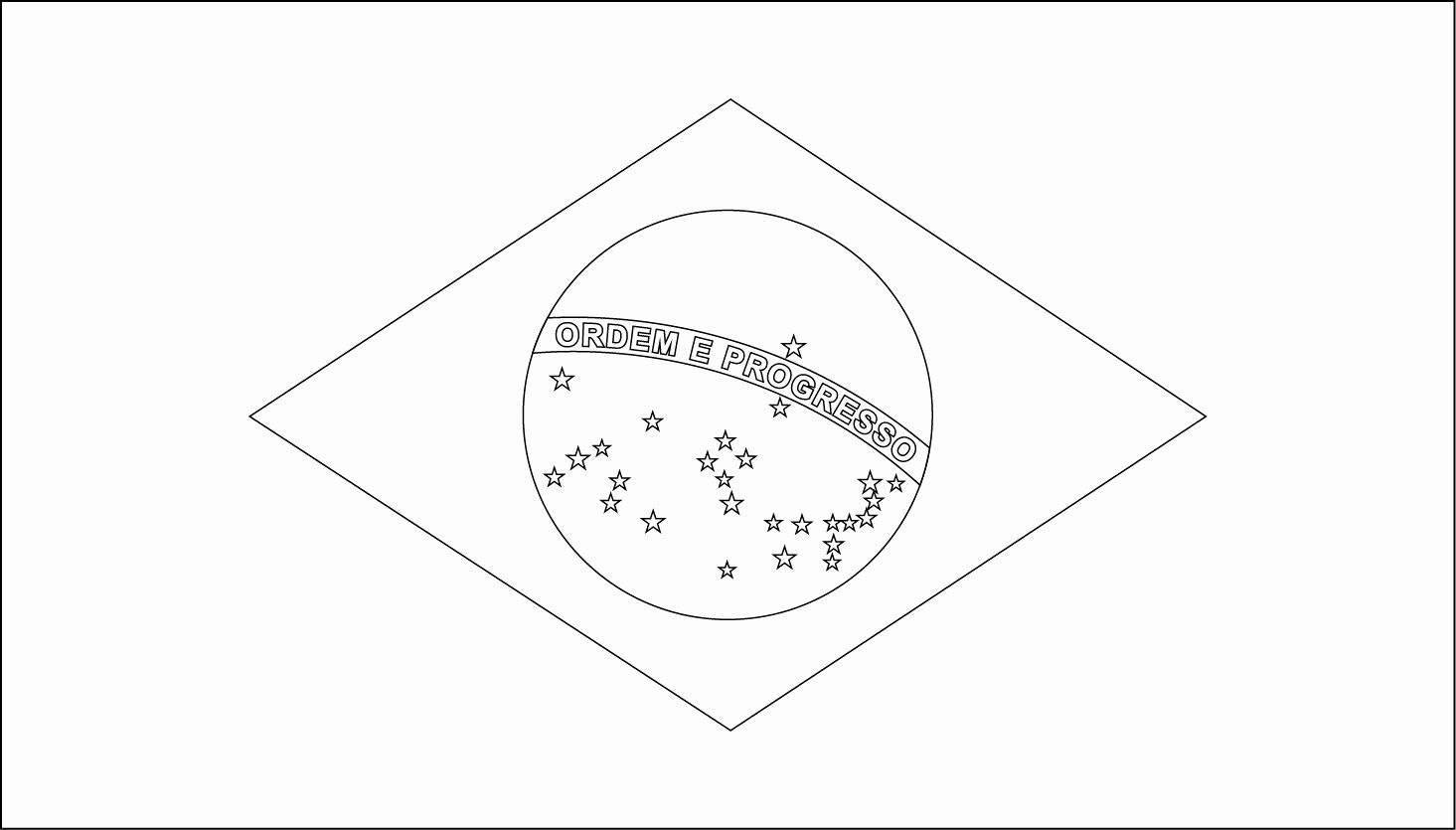 brazil flag to color brazil flags for coloring flag coloring pages coloring flag to brazil color