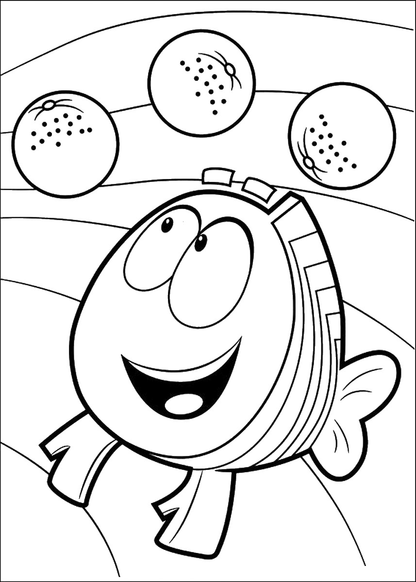 bubble guppies coloring page 20 free printable bubble guppies coloring pages bubble guppies page coloring