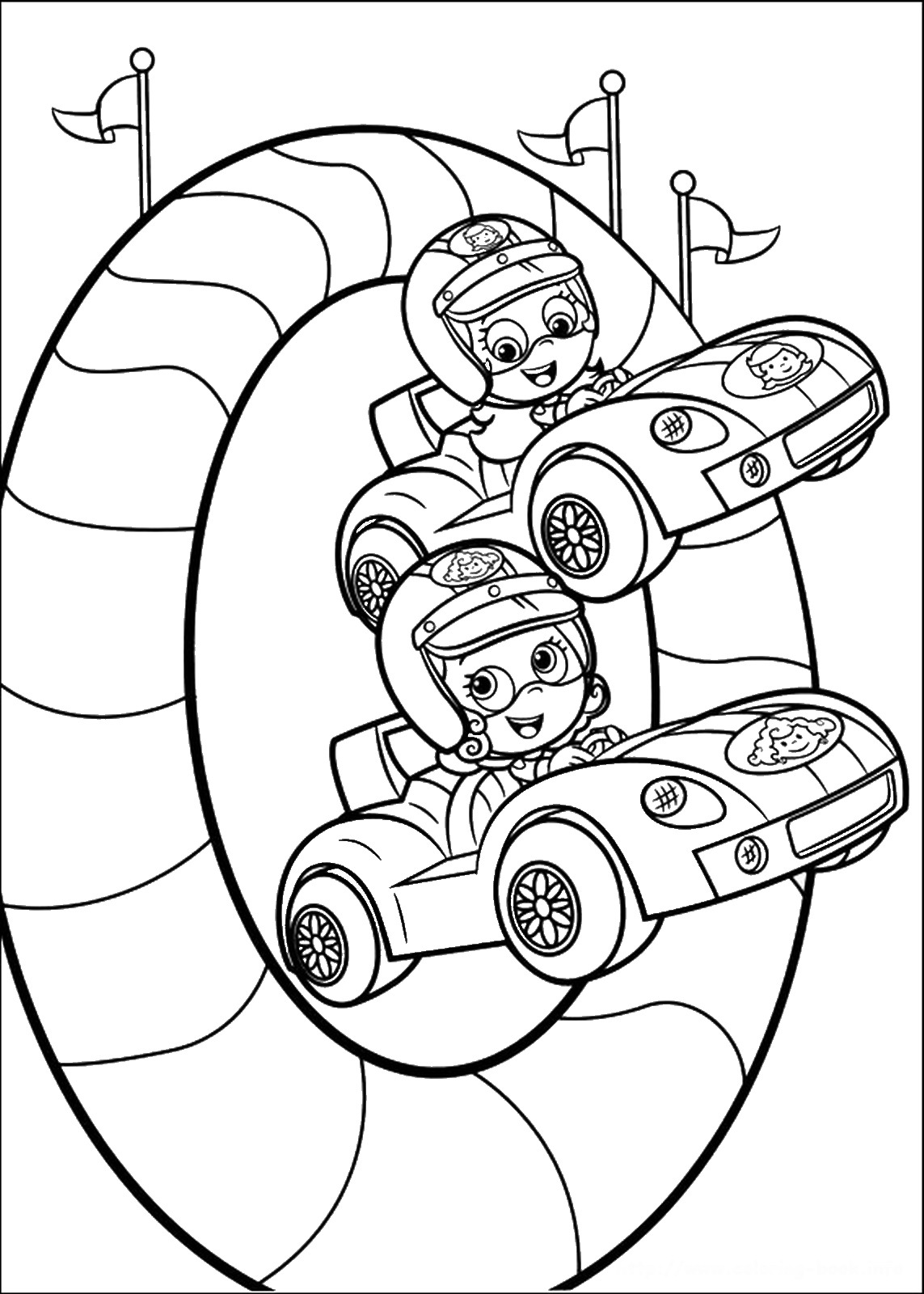bubble guppies coloring page 25 free printable bubble guppies coloring pages page guppies bubble coloring
