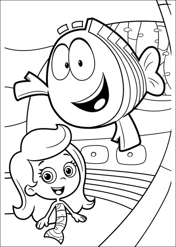 bubble guppies coloring page bubble guppies coloring pages best coloring pages for kids bubble guppies page coloring