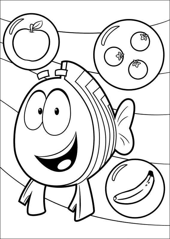 bubble guppies coloring page bubble guppies coloring pages coloring page guppies bubble