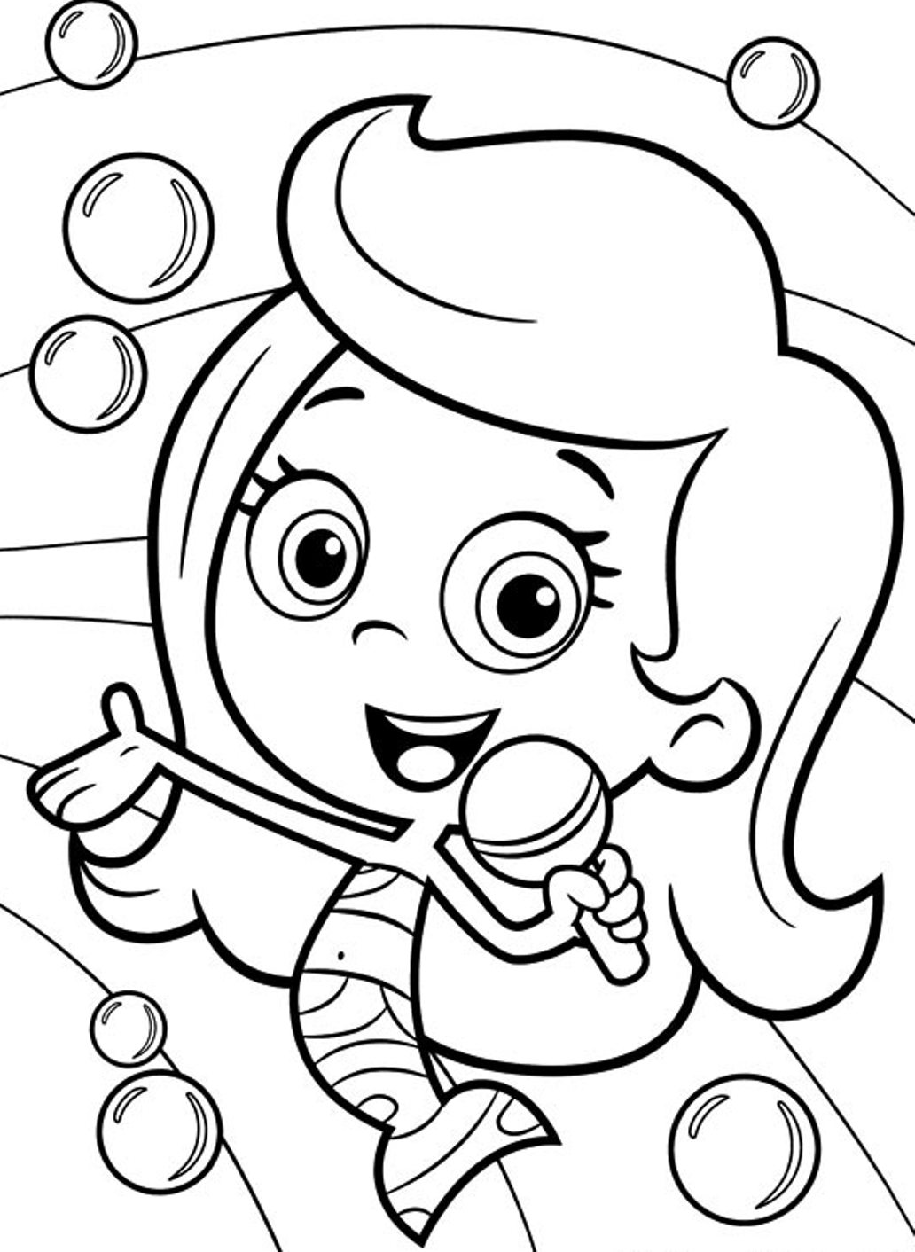 bubble guppies coloring page bubble guppies coloring pages coloring pages coloring bubble page guppies