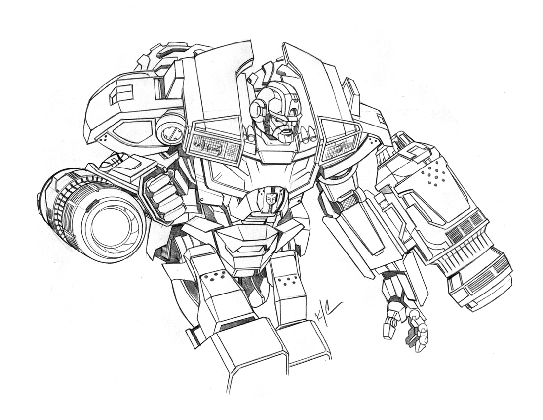 bulkhead transformer coloring page transformer turns into a big and strong coloring page page bulkhead transformer coloring