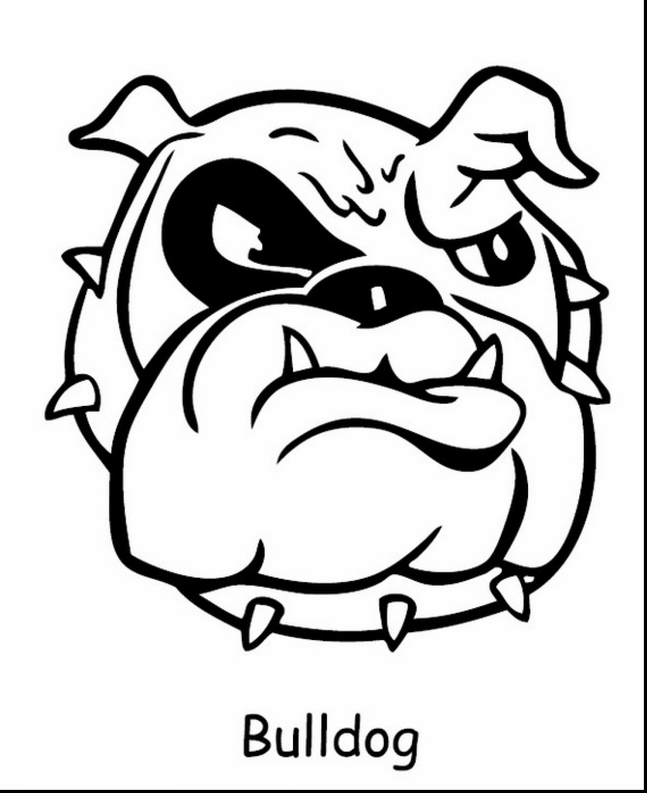 bulldogs coloring pages bulldog coloring pages getcoloringpagescom coloring pages bulldogs