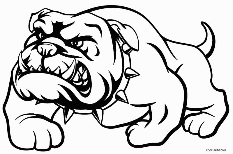 bulldogs coloring pages printable dog coloring pages for kids cool2bkids coloring pages bulldogs