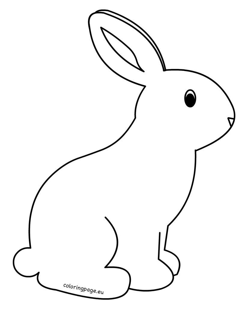 bunny printable bunny coloring pages best coloring pages for kids printable bunny