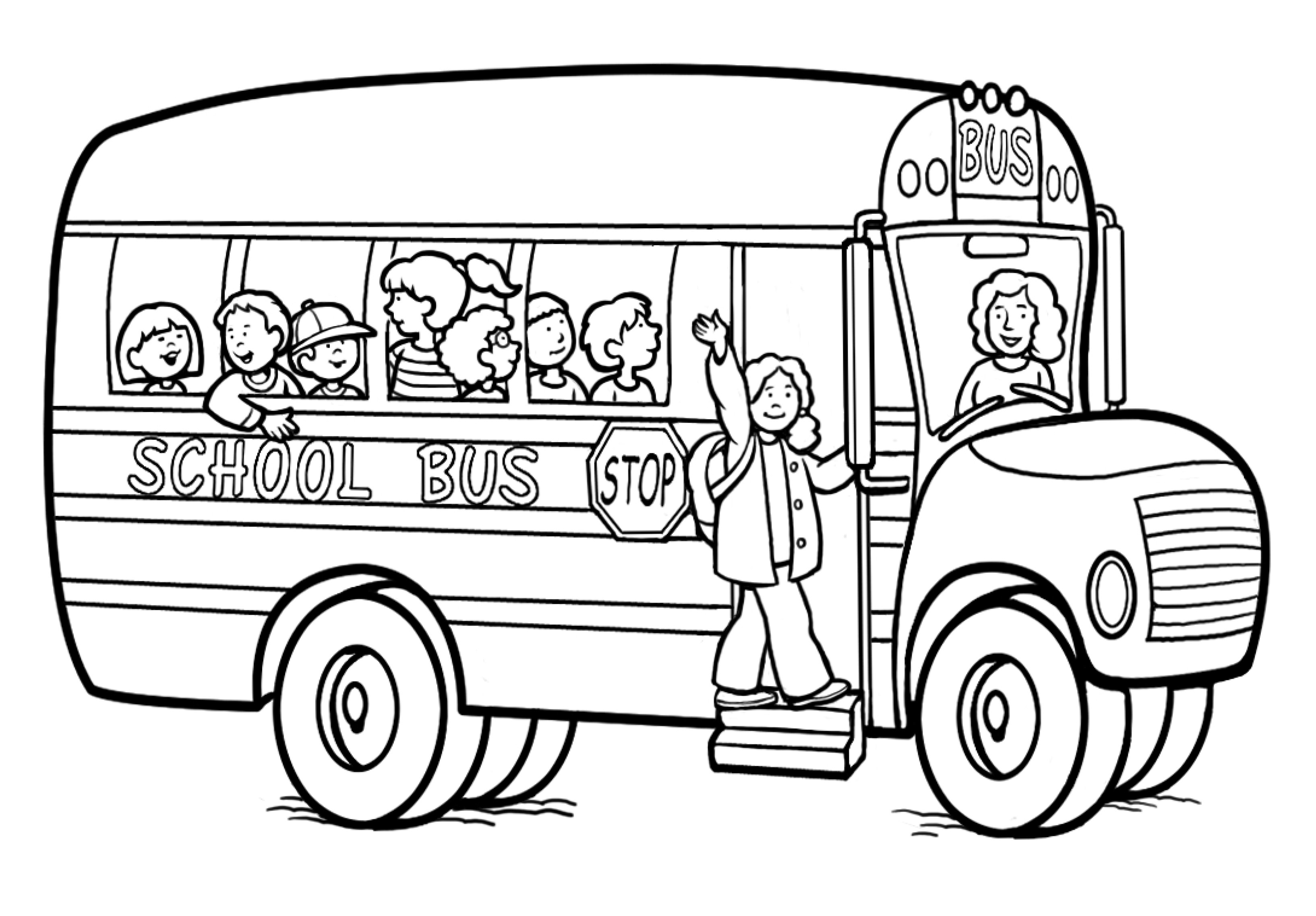 bus coloring pages printable school bus coloring page for kids cool2bkids coloring bus pages