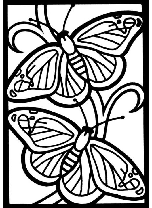 butterfly mosaic coloring page vlinders coloring pages mosaic garden art colorful coloring page mosaic butterfly