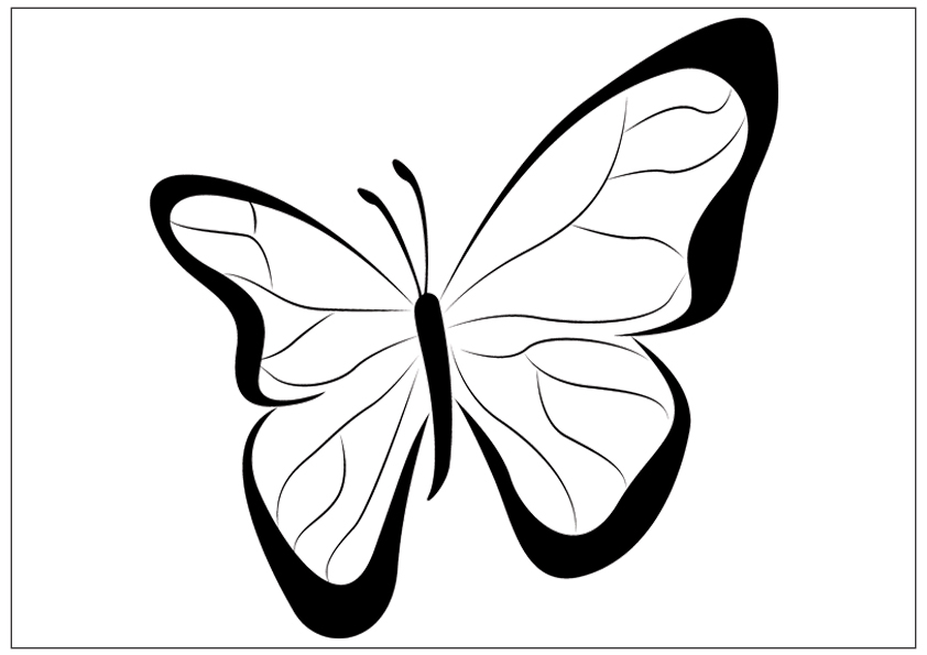 butterfly printable butterfly coloring pages butterfly printable