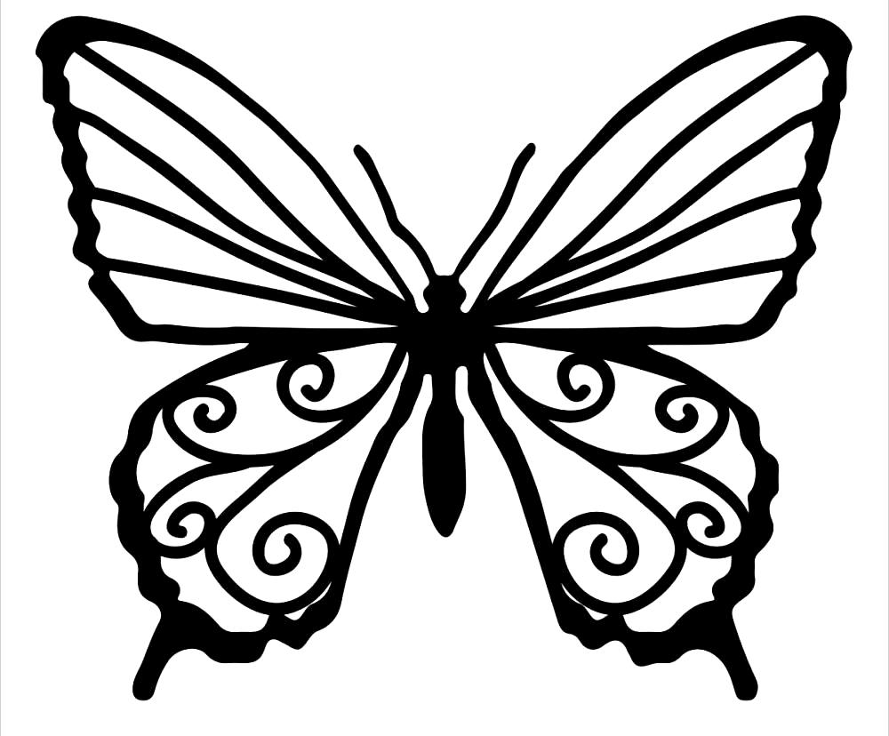 butterfly printable free printable butterfly coloring pages for kids printable butterfly 1 1