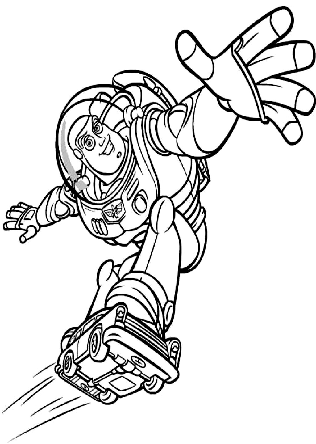 buzz lightyear for coloring free printable buzz lightyear coloring pages for kids for buzz coloring lightyear