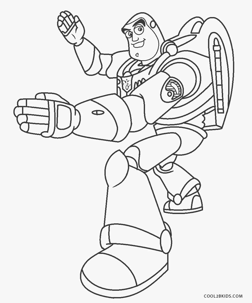 buzz lightyear for coloring free printable buzz lightyear coloring pages for kids for buzz coloring lightyear 1 1