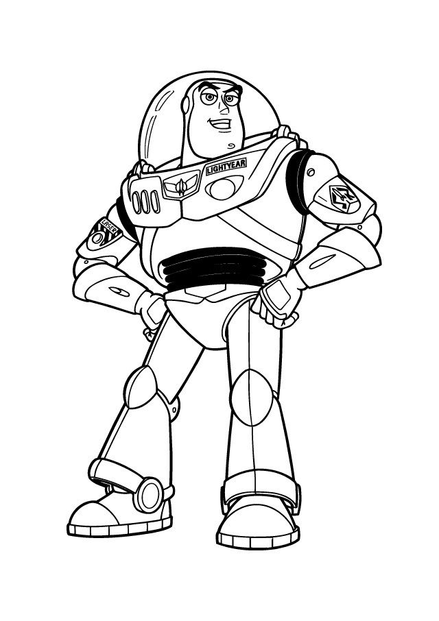 buzz lightyear for coloring free printable buzz lightyear coloring pages for kids lightyear for buzz coloring