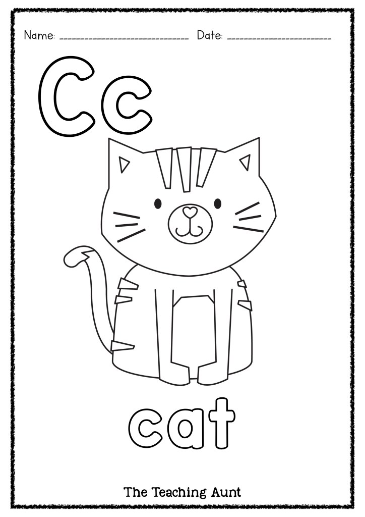 c is for caterpillar coloring page free for kids c is for cat colouring page c page is caterpillar coloring for