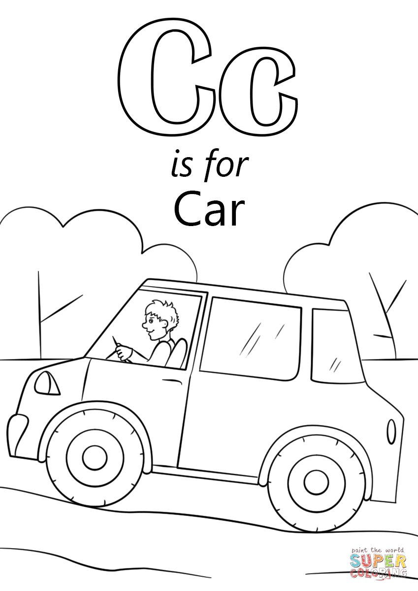 c is for caterpillar coloring page letter c coloring pages kidsuki is coloring caterpillar page c for