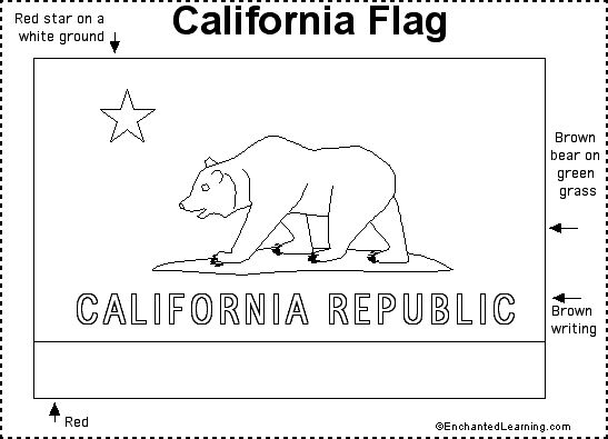 california state flag coloring page california flag coloring page a free travel coloring california coloring page flag state