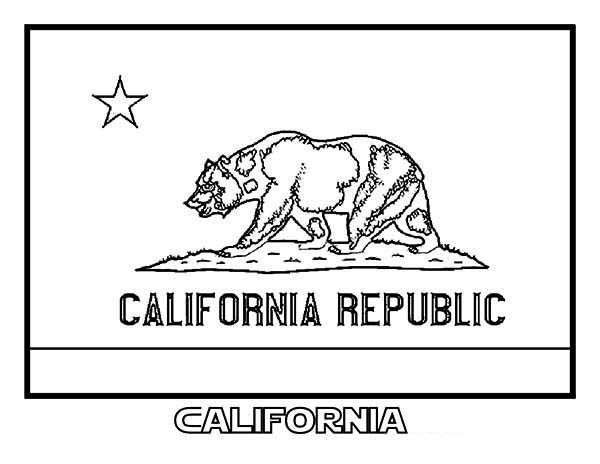 california state flag coloring page california flag coloring page state flag drawing flags web flag page coloring california state