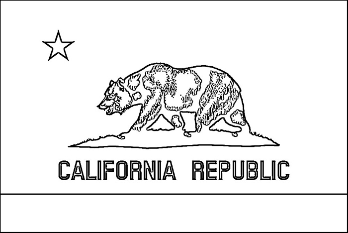 california state flag coloring page california state flag coloring page color luna state coloring page california flag