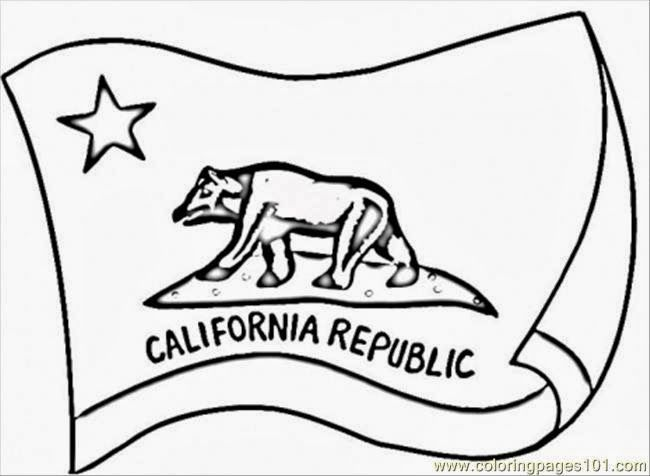 california state flag coloring page california state flag coloring page coloring home coloring flag california page state
