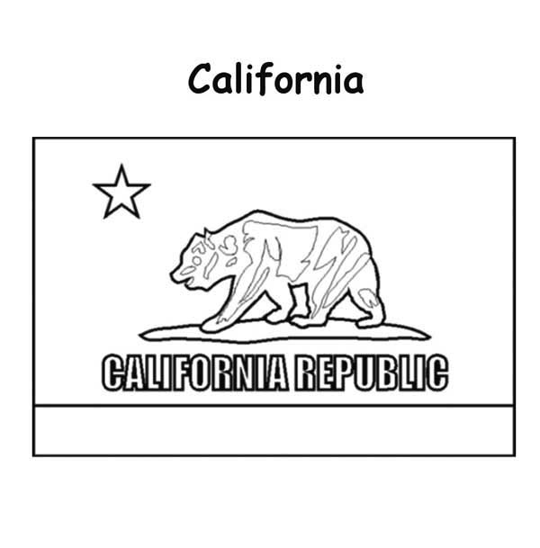 california state flag coloring page free printable california flag coloring page download it california page flag state coloring