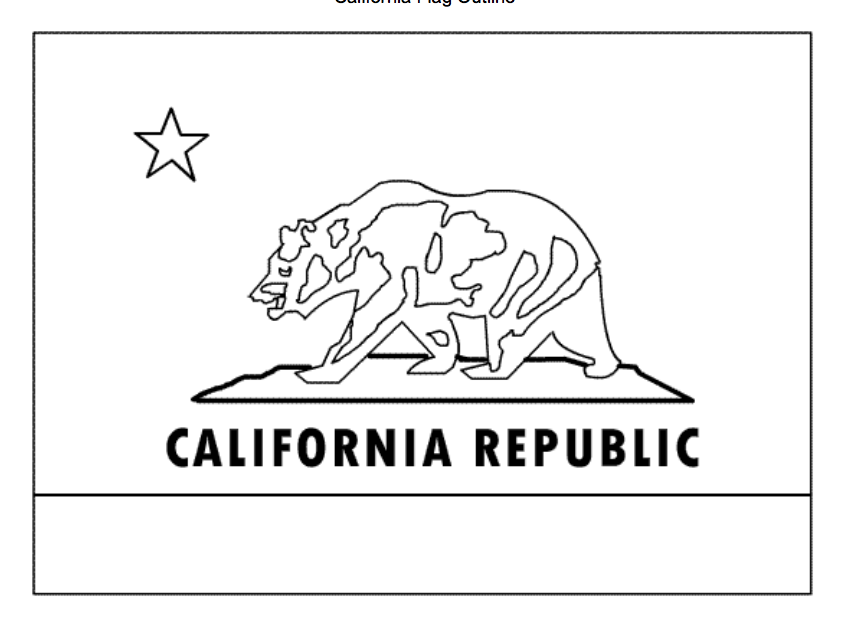california state flag coloring page state flag coloring pages page california flag coloring state
