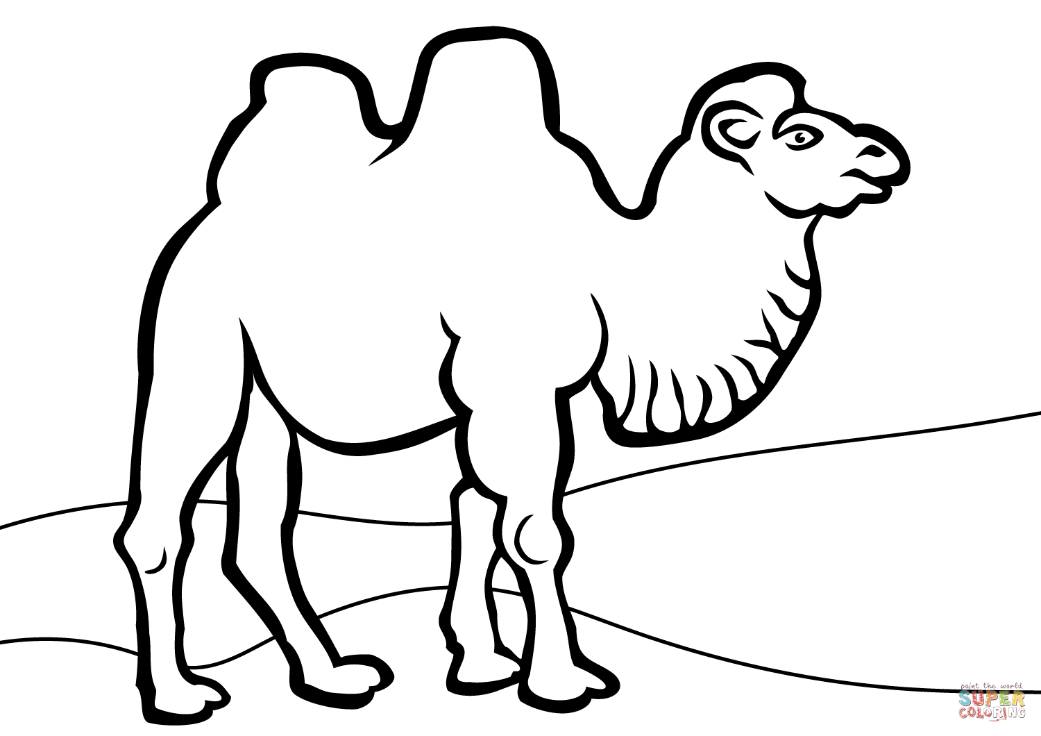 camels coloring pages free printable camel coloring pages for kids camels pages coloring 1 1