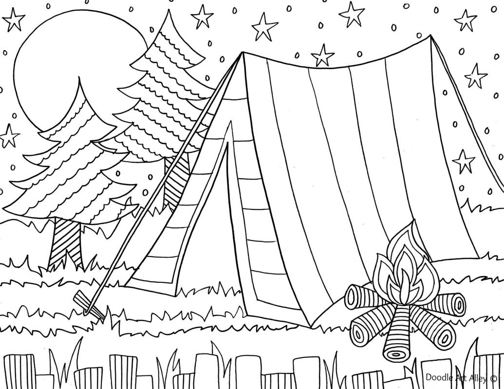 camping coloring pages for kids camping coloring page for the kids camping coloring kids pages for coloring camping