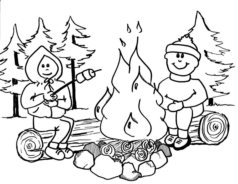camping coloring pages for kids camping coloring pages best coloring pages for kids pages kids coloring camping for