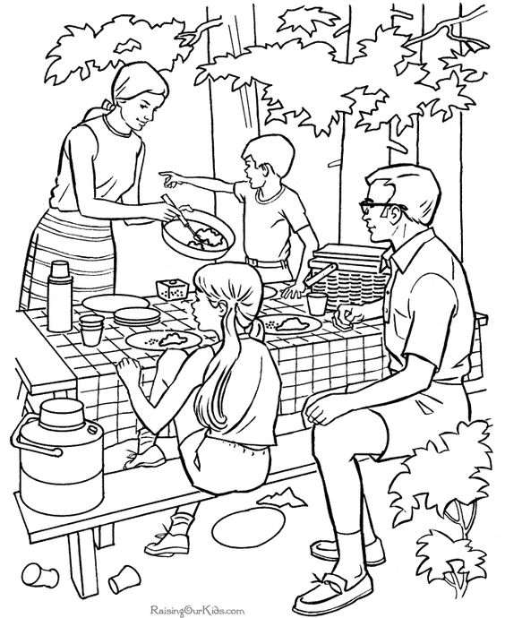 camping coloring pages for kids camping coloring pages kid39s summer coloring fun coloring pages camping kids for