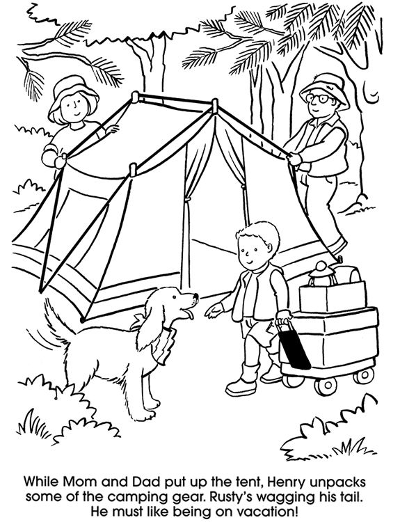 camping coloring pages for kids camping coloring pages kids coloring activity pages for pages camping coloring kids