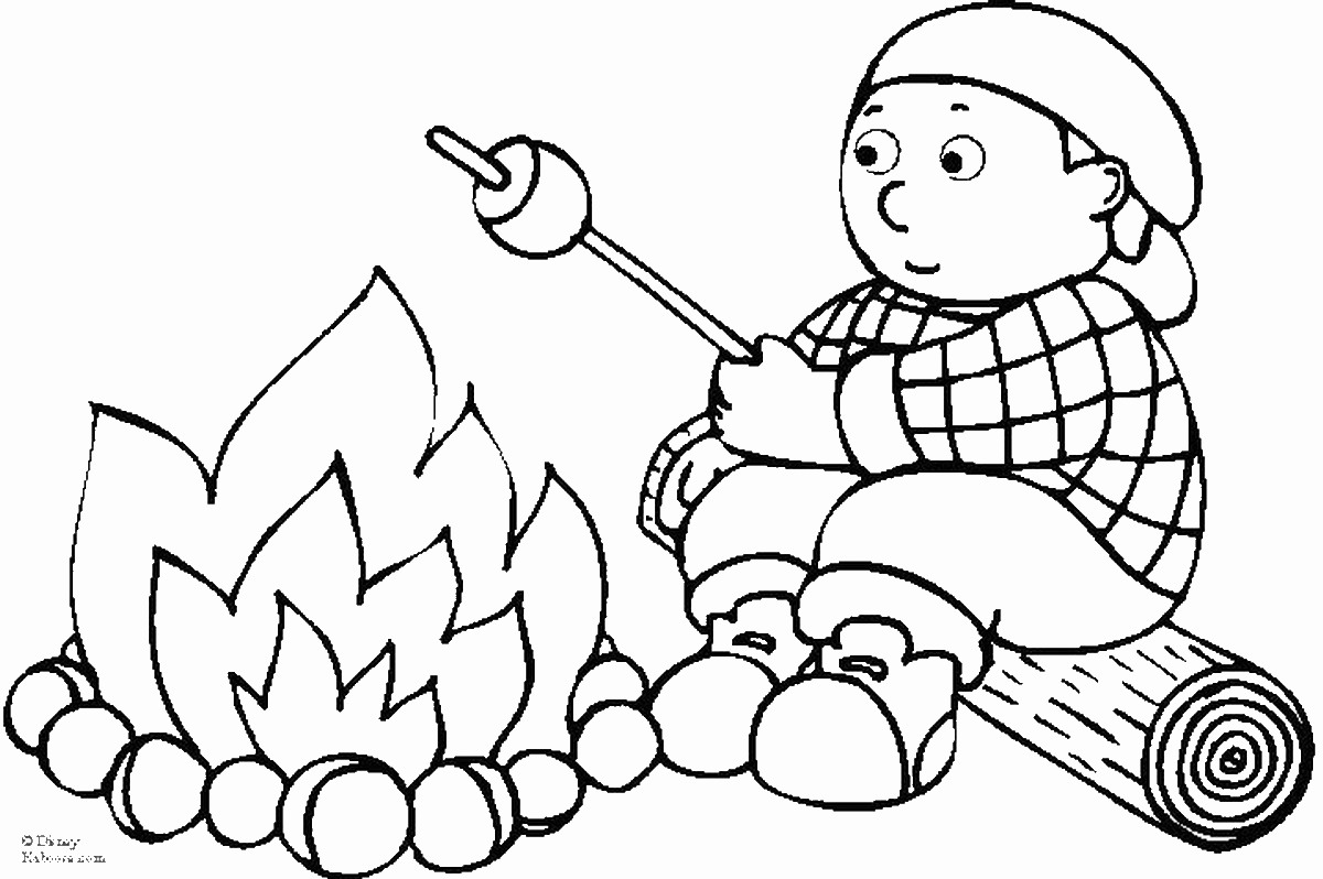 camping coloring pages for kids camping coloring pages kids pages camping coloring for