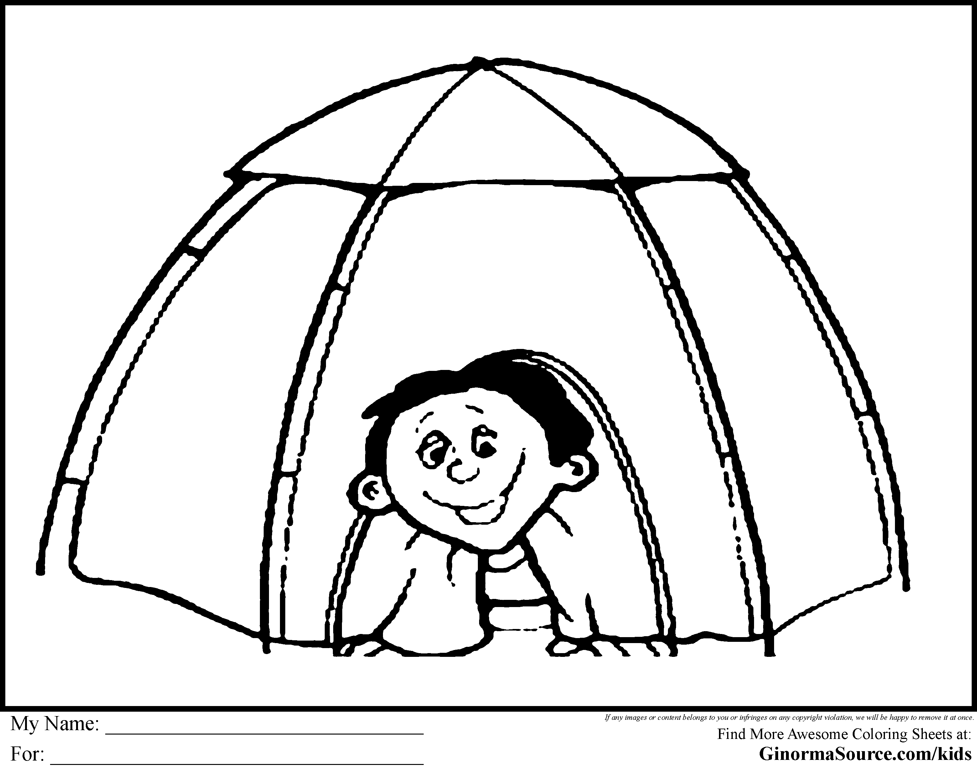 camping coloring pages for kids camping coloring pages tent everest vbs 2015 pinterest for coloring pages camping kids