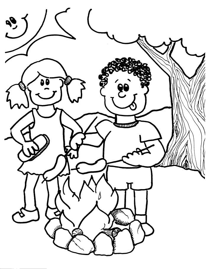 camping coloring pages for kids colorwithfuncom camping coloring pages for kids for camping coloring kids pages