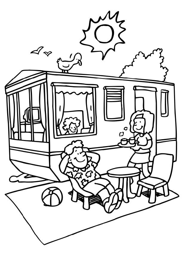 camping coloring pages for kids fun coloring pages camping coloring pages kids pages camping for coloring