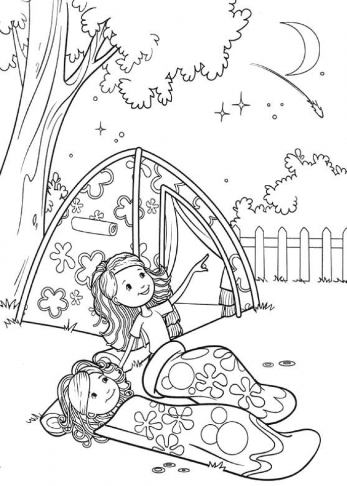 camping coloring pages for kids get this printable camping coloring pages 41558 for camping coloring pages kids