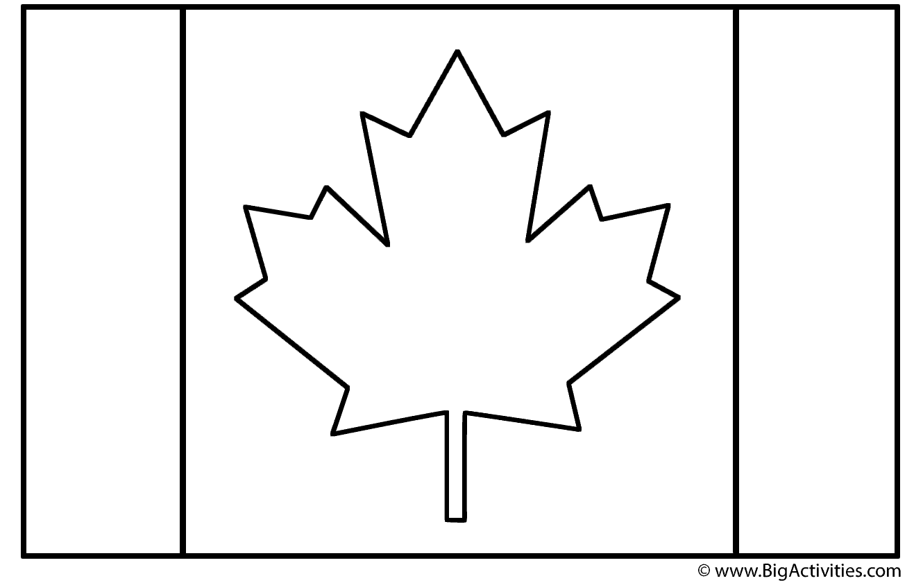 canadian flag coloring page canadian flag coloring pages coloring pages to download canadian page coloring flag