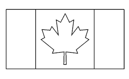 canadian flag coloring page canadian flag coloring pages coloring pages to download page flag coloring canadian