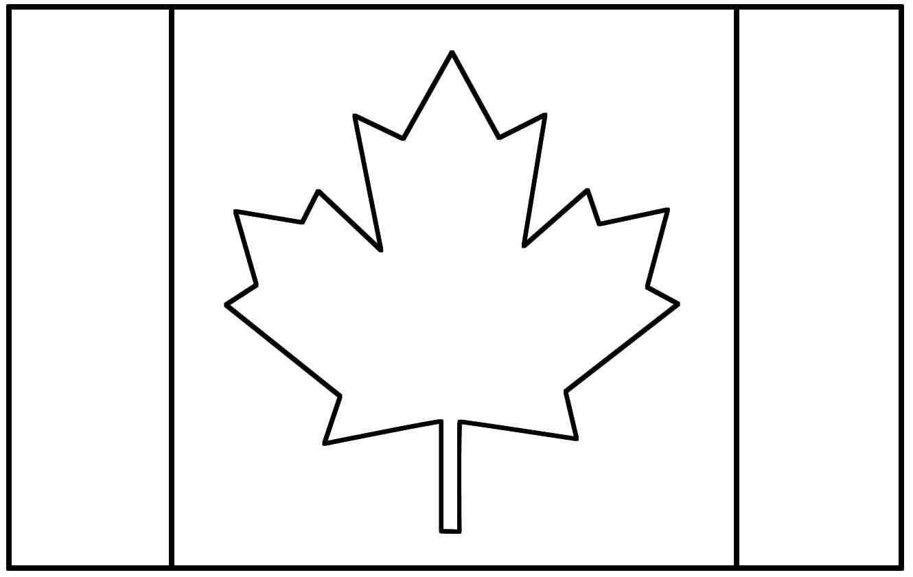 canadian flag coloring page canadian flag colouring page north america pinterest coloring canadian page flag