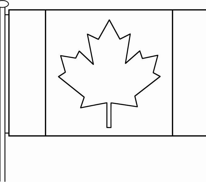 canadian flag coloring page canadian flag free printable colouring pages page coloring flag canadian