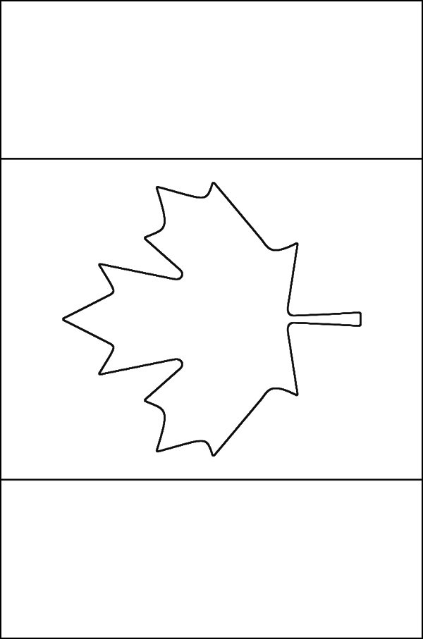 canadian flag coloring page flag of canada coloring page supercoloringcom flag canadian coloring page