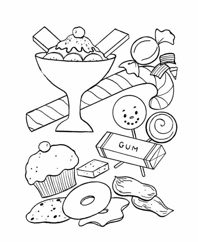 candy coloring book printable candy coloring pages for kids book candy coloring