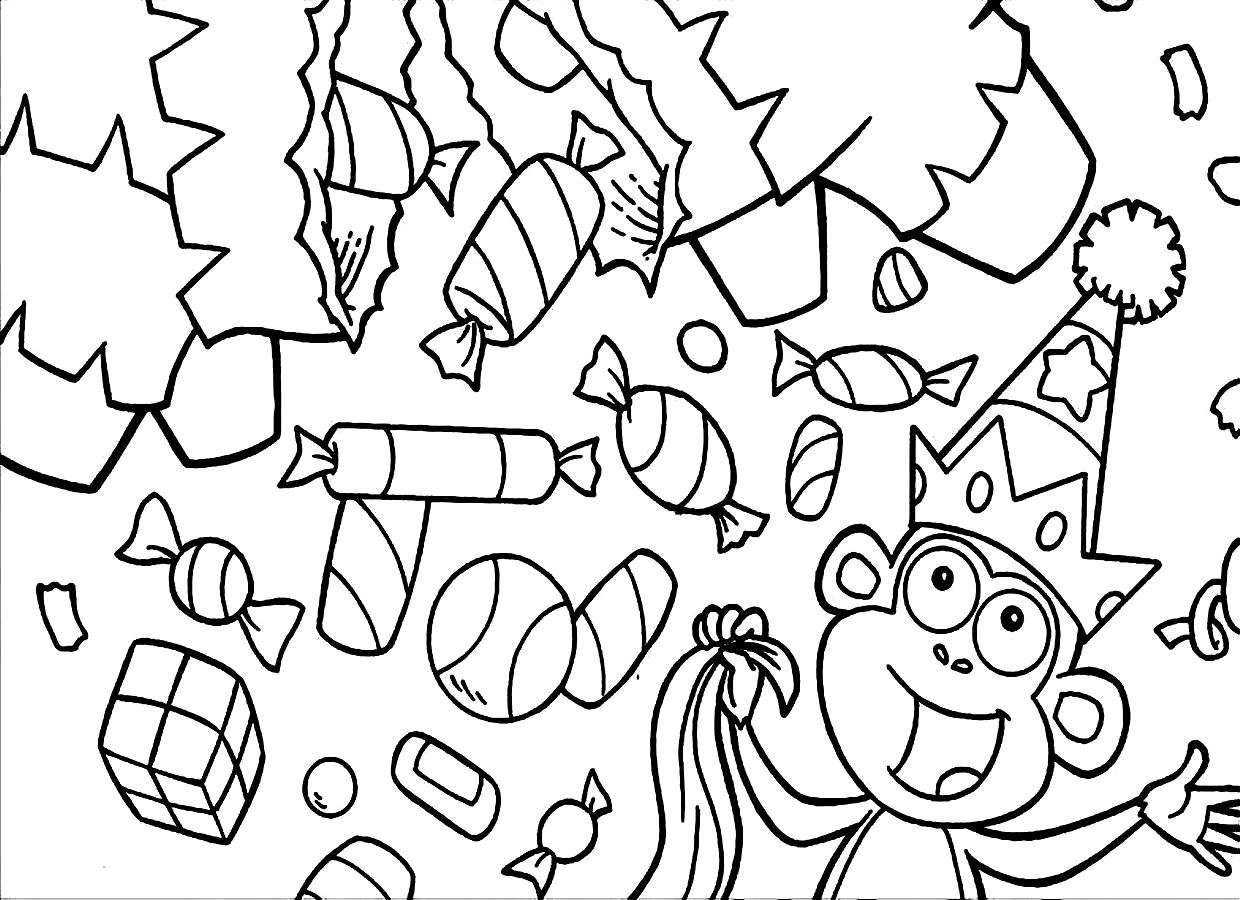 candy coloring book printable candy coloring pages for kids cool2bkids book candy coloring