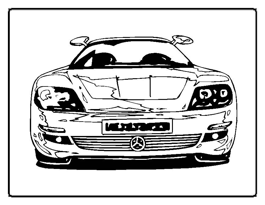 car pictures to colour in cars coloring pages coloringpages1001com colour car in to pictures