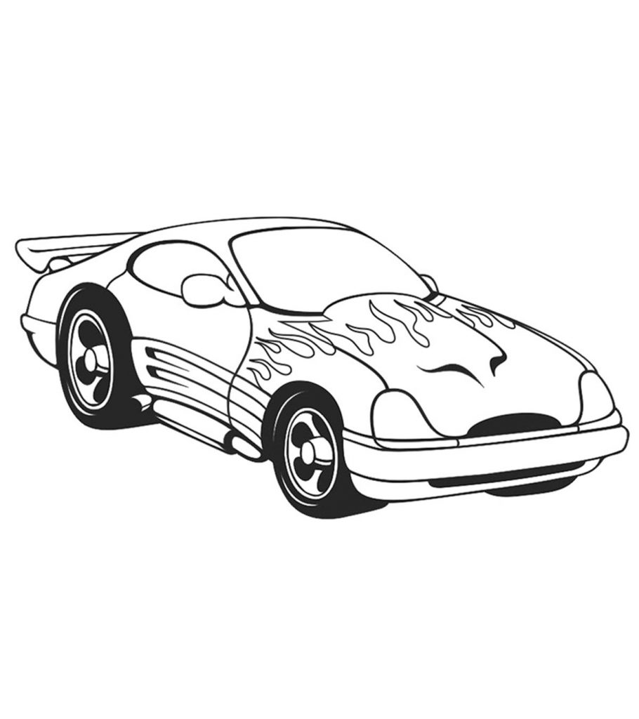 car pictures to colour in coloring pages racecars coloring pages to car colour pictures in