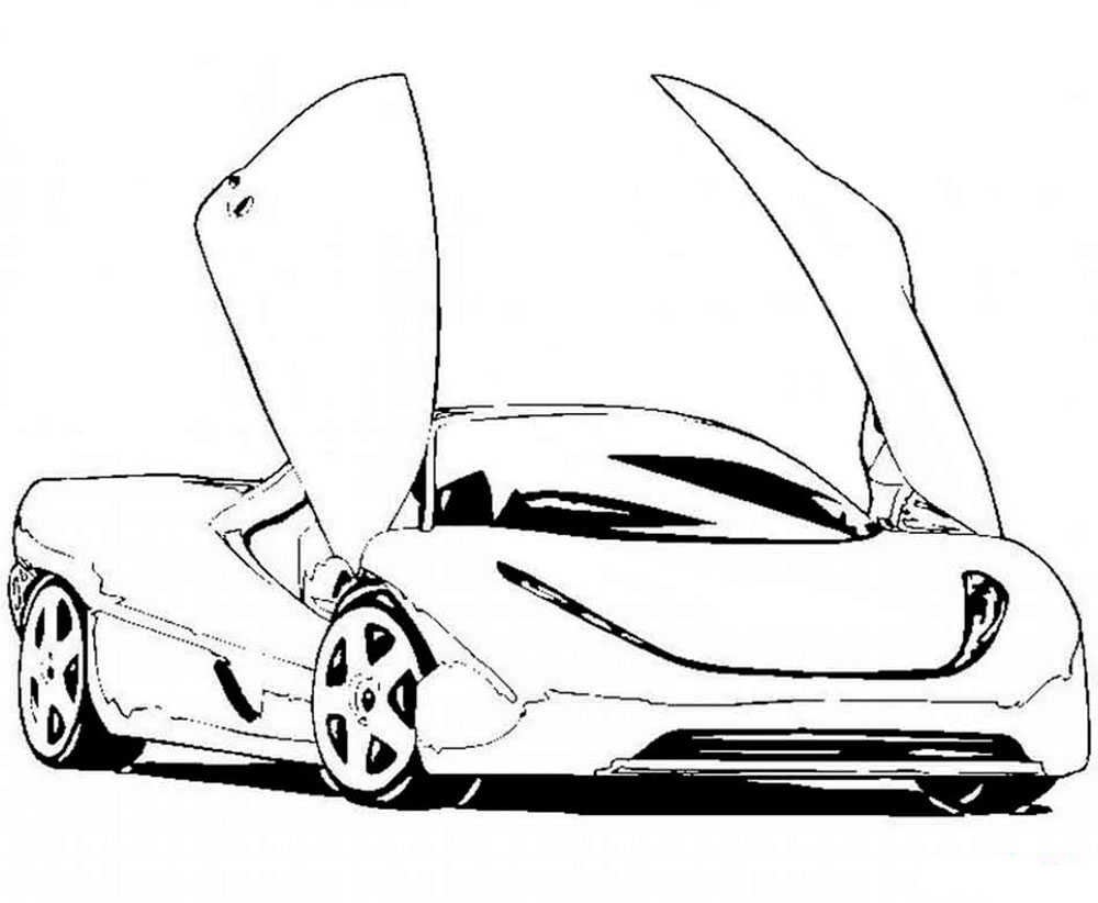 car pictures to colour in top 20 free printable sports car coloring pages online to in colour pictures car