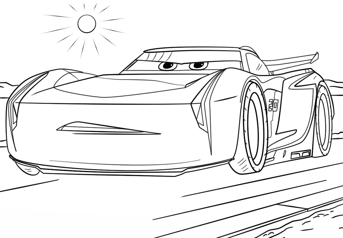 cars colouring page cars coloring pages coloringpages1001com colouring cars page